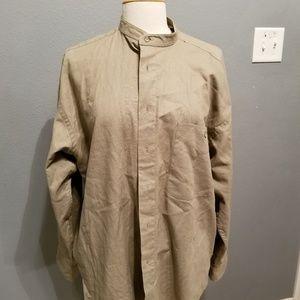 Mens linen Yves saint Laurent shirt